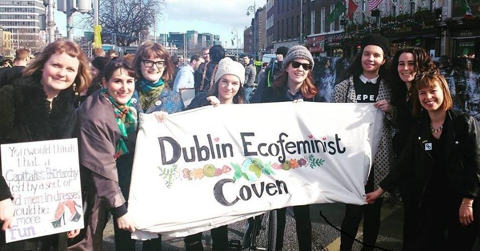 Dublin'de kürtaj hakkı için gerçekleştirilen yürüyüş